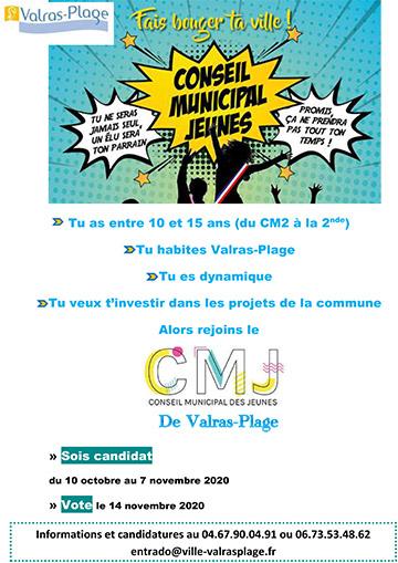 Election Conseil municipal des jeunes