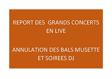 REPORTS ET ANNULATIONS ANIMATIONS
