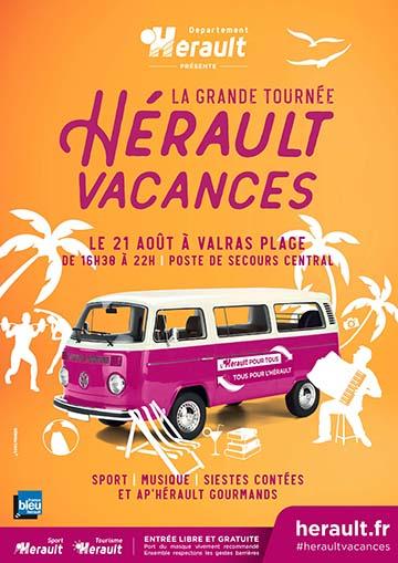 La Grande tournée Hérault Vacances