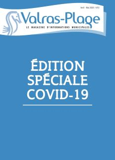 Valras-Plage N°65 EDITION SPECIALE COVID-19